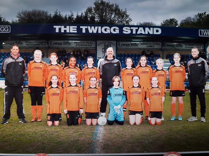 Hilton Harriers Girls and Wildcats Football Team 2019-20