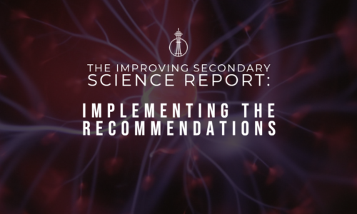The Improving Secondary Science Report