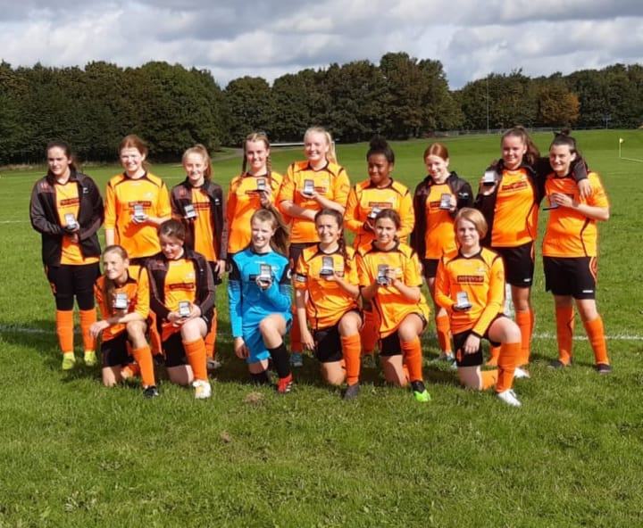 Hilton Harriers Girls & Wildcats U14 Challenge Cup