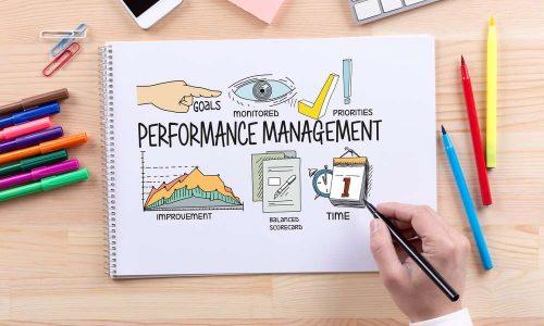 BUSINESS JOB SUCCESS AND PERFORMANCE MANAGEMENT CONCEPT