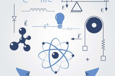 symbols of physics. vector elements for design. eps8