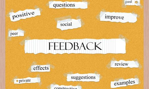 Feedback Corkboard Word Concept with great terms such as questions, good, social and more.